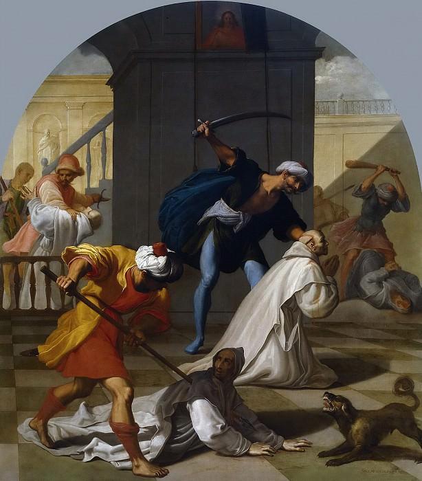 Кардучо, Висенте -- Мученичество картезианцев в Мауэрбахе. Часть 4 Музей Прадо