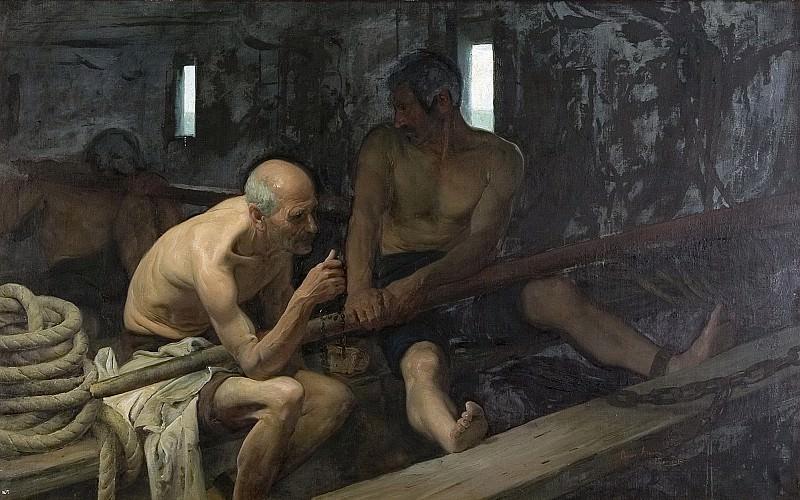 Álvarez Dumont, César -- Galeotes. Part 4 Prado Museum