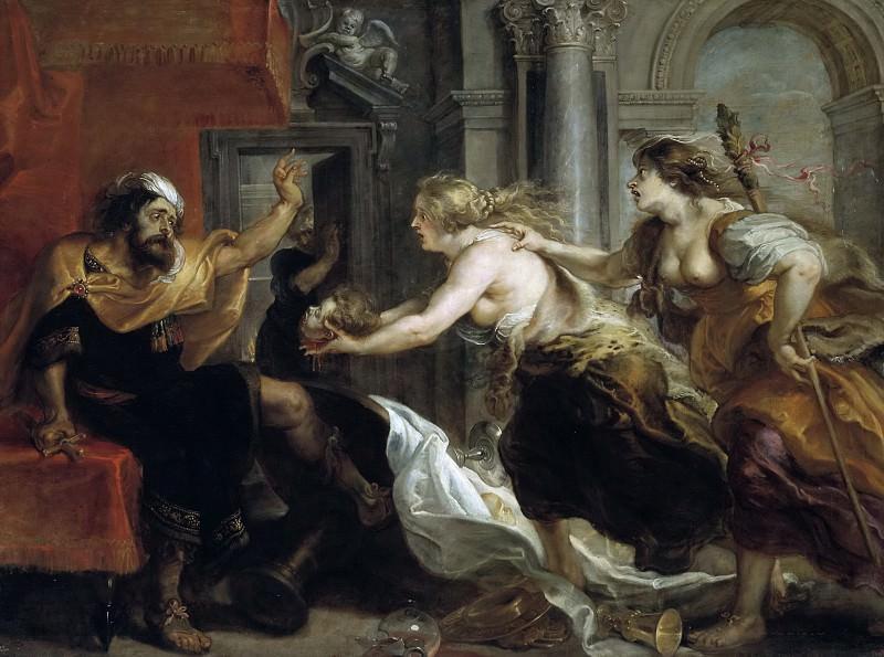 Banquete de Tereo (Rubens y taller). Peter Paul Rubens