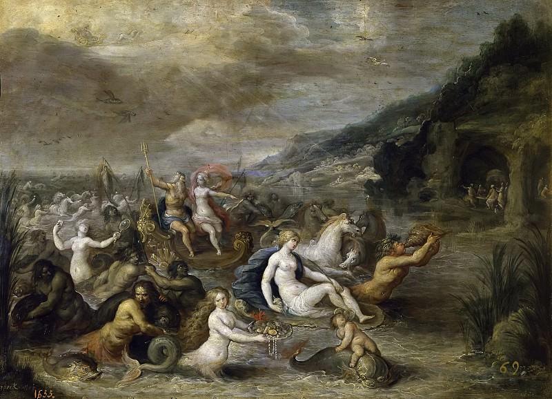 Francken, Frans II -- Neptuno y Anfitrite. Part 4 Prado Museum