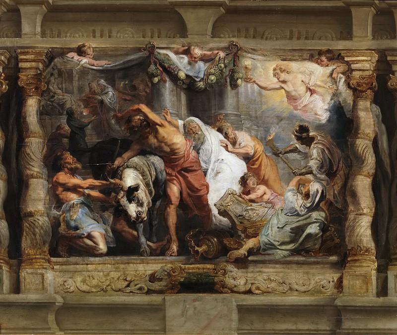 Триумф евхаристии над идолопоклонством. Питер Пауль Рубенс