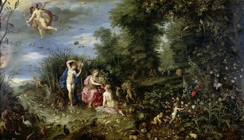 Ян Брейгель I и Хендрик ван Бален -- Четыре стихии. Часть 4 Музей Прадо