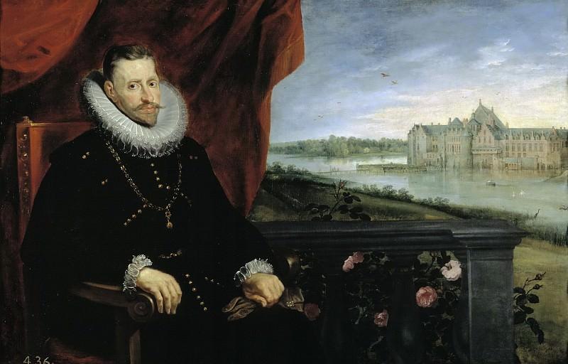 Rubens, Pedro Pablo; Brueghel el Viejo, Jan -- El archiduque Alberto de Austria. Part 4 Prado Museum