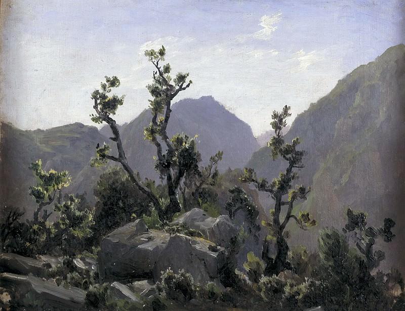 Haes, Carlos de -- Montañas (Asturias). Part 4 Prado Museum