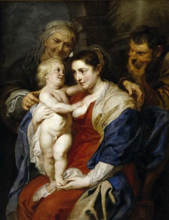 La Sagrada Familia con Santa Ana. Peter Paul Rubens