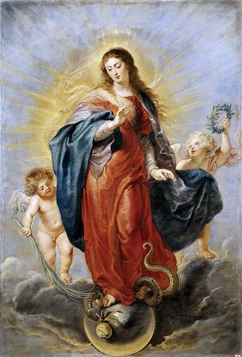 La Inmaculada Concepción. Peter Paul Rubens