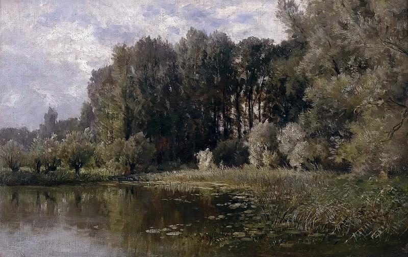 Хаэс, Карлос де -- Озеро в Неймегене. Часть 4 Музей Прадо