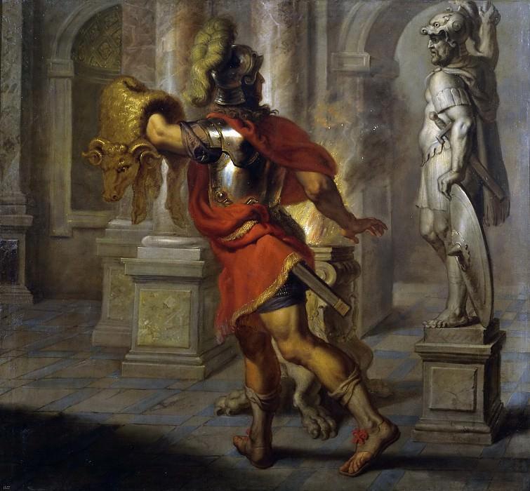 Quellinus, Jan Erasmus -- Jasón con el vellocino de oro. Part 4 Prado Museum