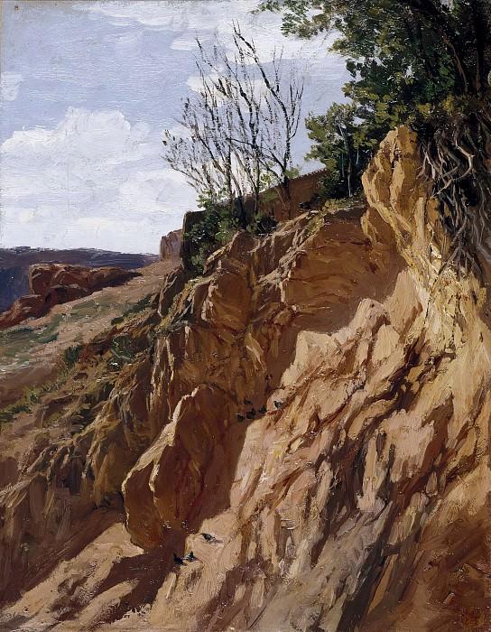 Haes, Carlos de -- Tajo Colorado (Río Piedra de Aragón). Part 4 Prado Museum