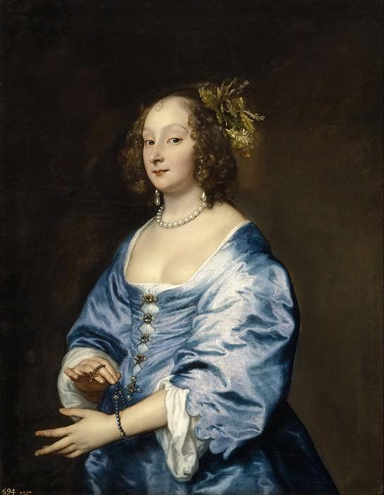Dyck, Anton van -- Mary Ruthven, Lady van Dyck. Part 4 Prado Museum