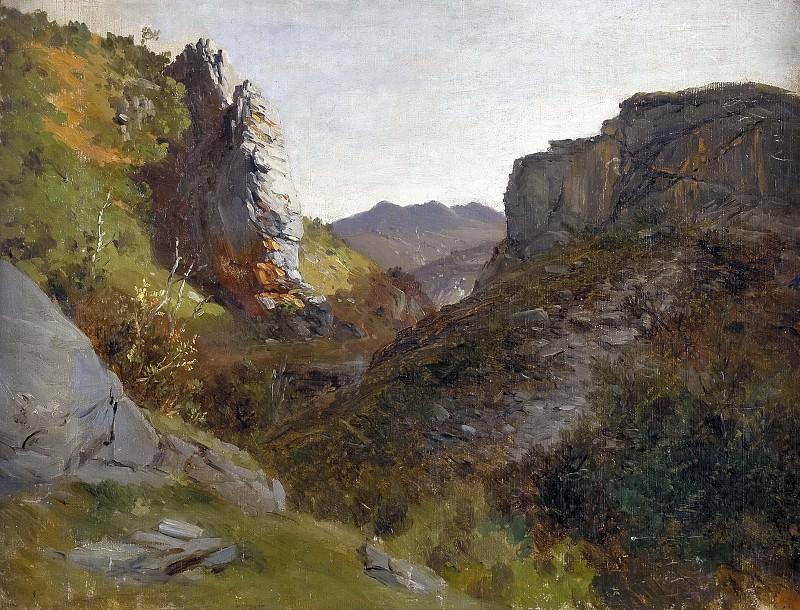 Haes, Carlos de -- Picos de Europa. Part 4 Prado Museum