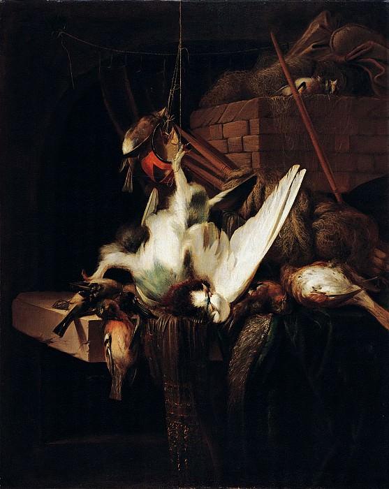 Ян Батист Веникс - Натюрморт с битой птицей. 70х56. М Лихтенштейн. Музей Лихтенштейн (Вена)