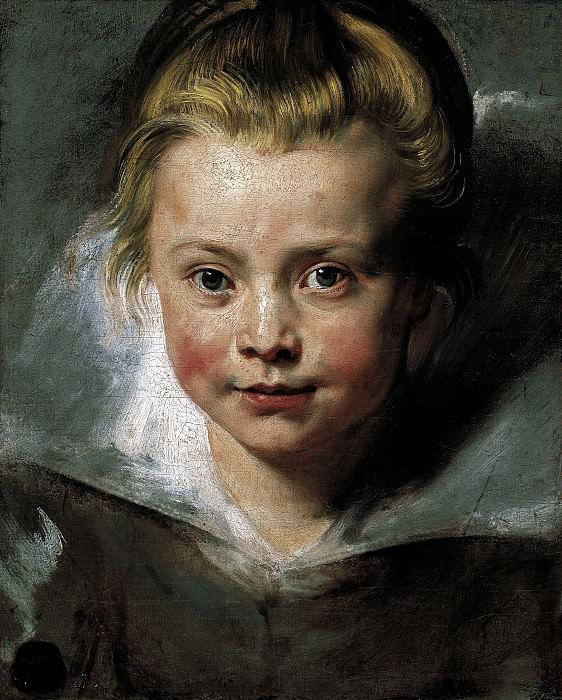 Портрет Клары Серены Рубенс - 1615 - 1616. Питер Пауль Рубенс