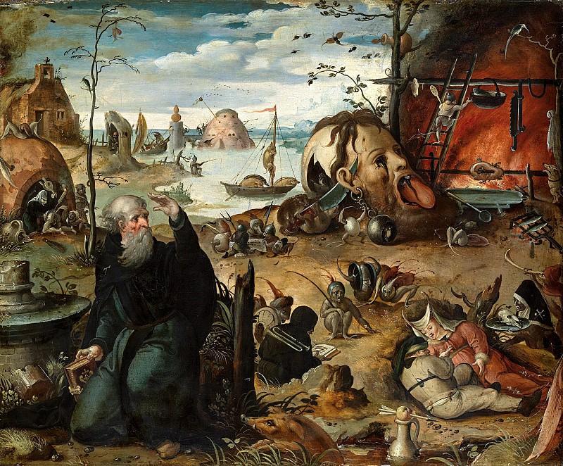 Ян Мандейн - Искушение св Антония. Колл Гогенбухау. Liechtenstein Museum (Vienna)