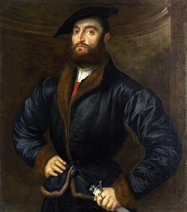 Парис Бордоне - Портрет мужчины. 1533. 98х84. М Лихтенштейн. Liechtenstein Museum (Vienna)