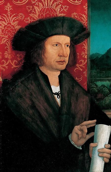 Бернхард Штригель - Портрет доктора Георга Танстеттера (1482-1535). ок1515. 42х29. М Лихтенштейн. Liechtenstein Museum (Vienna)