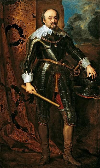 Антонис ван Дейк - Портрет Иоганна VIII, графа Нассау-Зиген. 1617. 204х122. М Лихтенштейн. Музей Лихтенштейн (Вена)