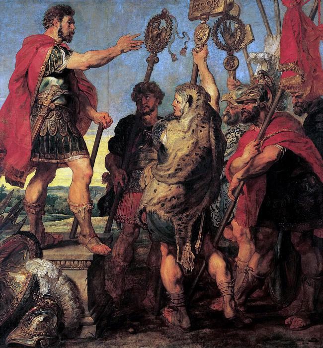 Речь Деция Муса о своей мечте. 1617. 294х278. М Лихтенштейн. Peter Paul Rubens
