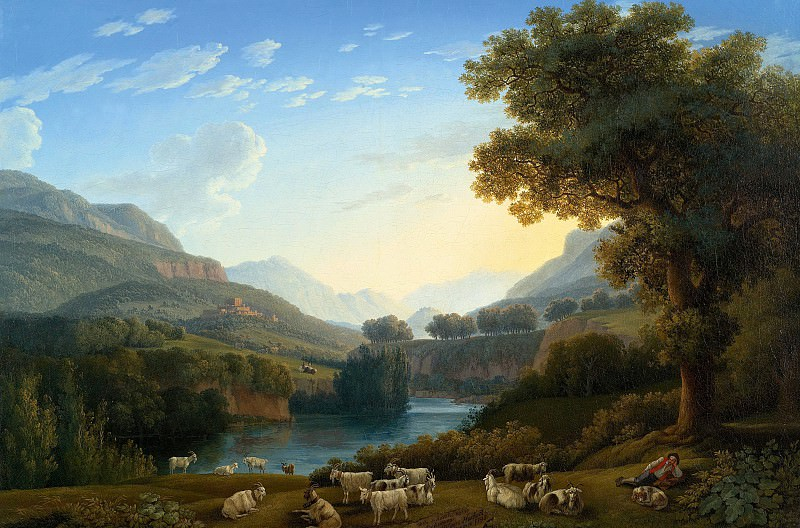 Якоб Филипп Хаккерт - Долина Ровето. 1795. 64х96. М Лихтенштейн Вена. Liechtenstein Museum (Vienna)
