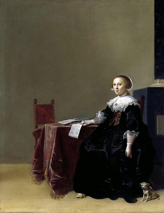 Хендрик Герритс Пот - Портрет девушки. ок1635. 44х34. М Лихтенштейн. Liechtenstein Museum (Vienna)