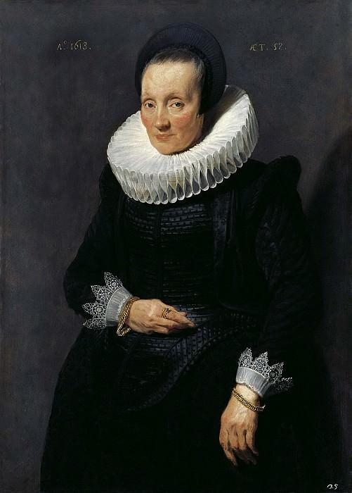 Антонис ван Дейк - Женский портрет. 1618. 105х76. М Лихтенштейн. Liechtenstein Museum (Vienna)