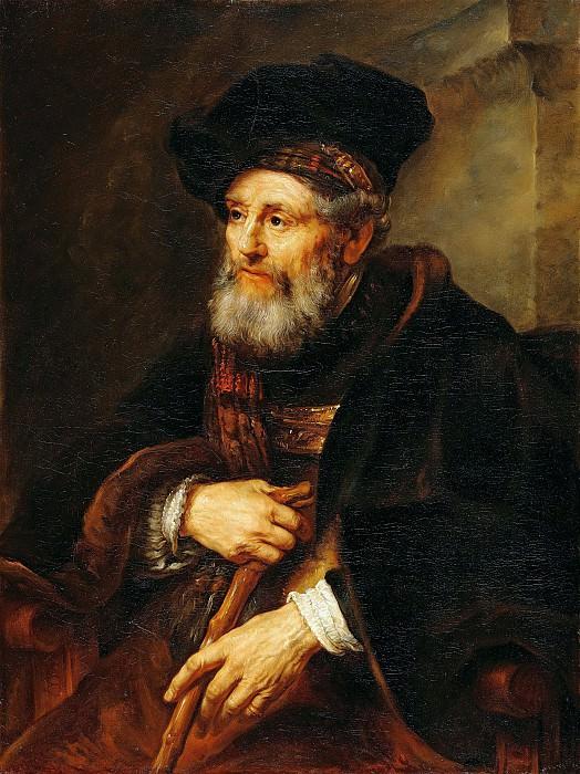 Соломон Конинк - Портрет старика. 99х75. М Лихтенштейн. Liechtenstein Museum (Vienna)