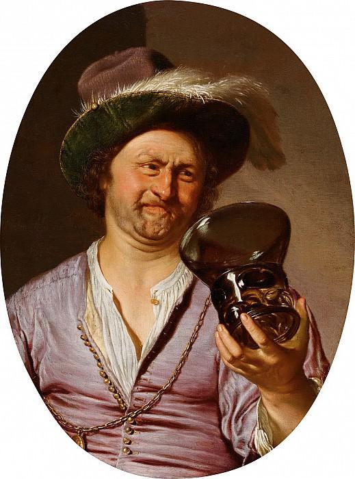 Франс ван Мирис I - Мужчина с бокалом. Колл Гогенбухау. Liechtenstein Museum (Vienna)