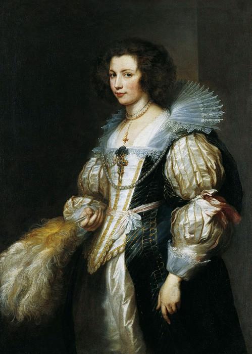 Антонис ван Дейк - Портрет Марии Луизы де Тассис. ок1630. 128х92. М Лихтенштейн. Музей Лихтенштейн (Вена)