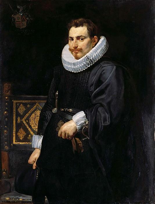 Питер Пауль Рубенс - Портрет Яна Вермулена. 1616. 126х96. М Лихтенштейн. Музей Лихтенштейн (Вена)
