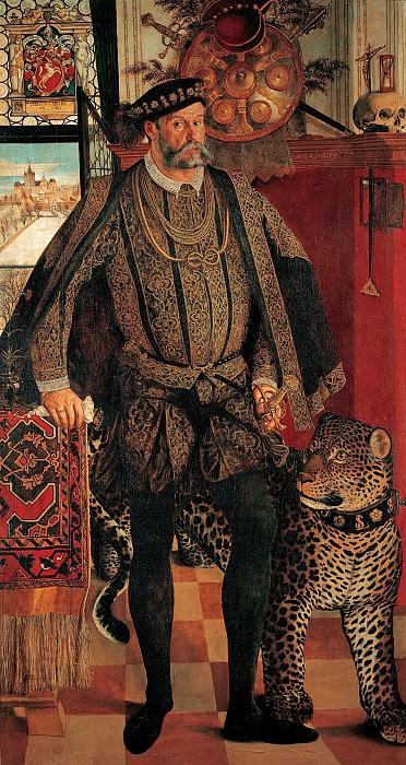 Ганс Мюлих - Портрет Ладислава фон Фраунберг, графа Хааг. 1557. 214х113. М Лихтенштейн. Liechtenstein Museum (Vienna)