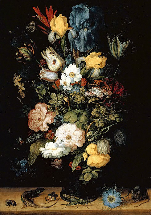 Рулант Саверей - Букет цветов (Лихтенштейнский букет). 1612. 49х34. М Лихтенштейн. Liechtenstein Museum (Vienna)