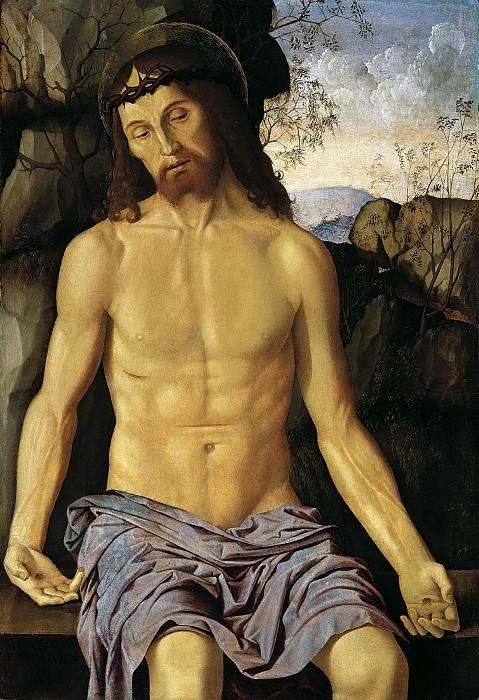 Марко Пальмеццано - Христос Скорбящий. 91х63. М Лихтенштейн. Liechtenstein Museum (Vienna)