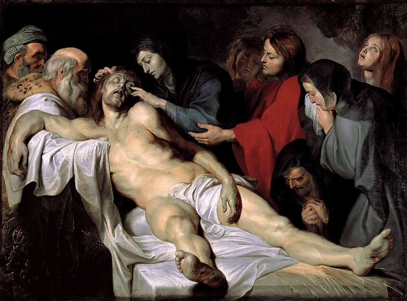 Mourning. Peter Paul Rubens