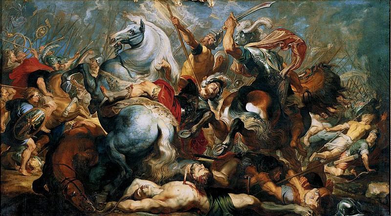 Смерть Публия Деция Муса. 1617. 289х518. М Лихтенштейн. Peter Paul Rubens