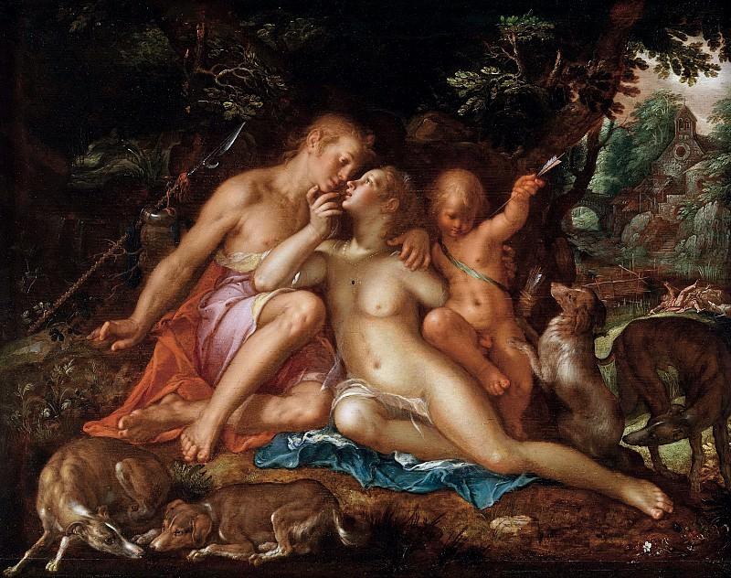 Venus and Adonis. Joachim Wtewael