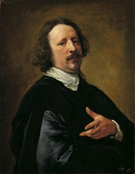 Антонис ван Дейк - Портрет Каспара де Крайера. 76х60. М Лихтенштейн. Музей Лихтенштейн (Вена)