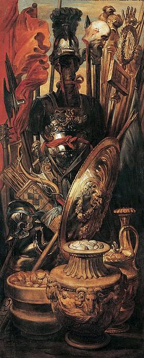 Трофеи. 1617. 287х125. М Лихтенштейн. Peter Paul Rubens