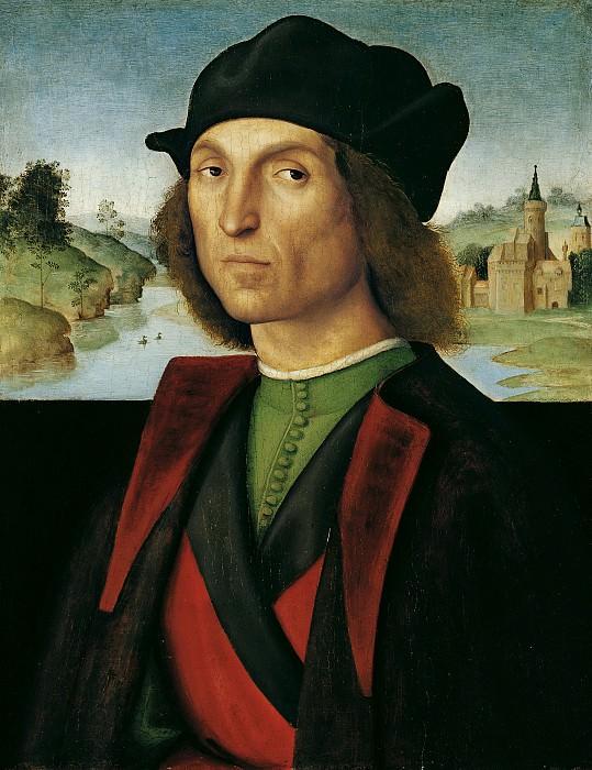Рафаэль - Мужской портрет. 1502-04. 48х37. Лихтенштейн. Liechtenstein Museum (Vienna)