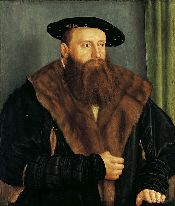 Бартель Бехам - Портрет герцога Людвига X Баварского. 1531. 69х59. М Лихтенштейн. Liechtenstein Museum (Vienna)