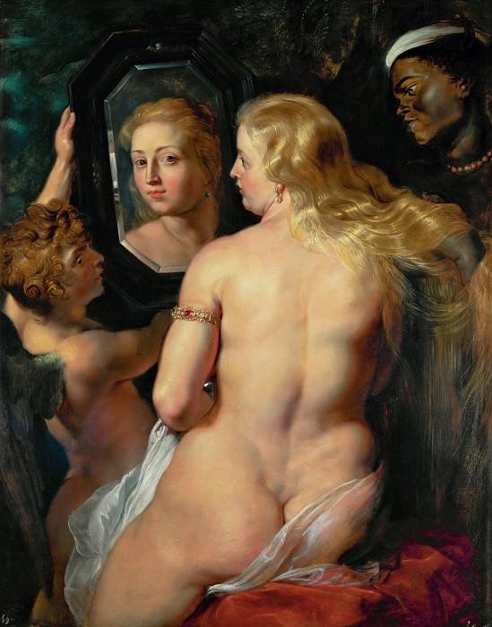 Venus at a Mirror. Peter Paul Rubens
