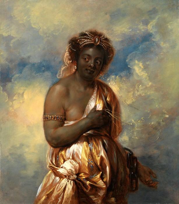 Ян Букхорст - Цикл континенты - Африка. 134х116. Колл Гогенбухау. Liechtenstein Museum (Vienna)