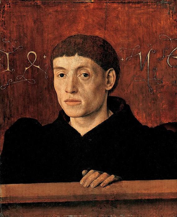 Бартелеми д'Эйк - Портрет мужчины. 1456. 51х41. Собр принца Лихтенштейн в замке под Веной. Liechtenstein Museum (Vienna)