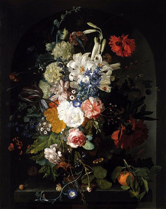 Ян ван Хейсум - Букет цветов. 89х71. М Лихтенштейн. Музей Лихтенштейн (Вена)