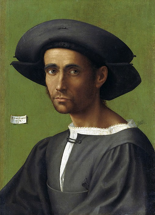 Франчабиджо (Франческо ди Кристофано) - Портрет мужчины. 1517. 55х40. М Лихтенштейн. Liechtenstein Museum (Vienna)