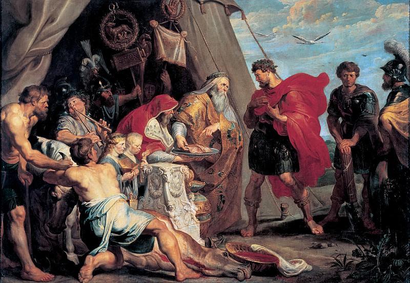 Питер Пауль Рубенс - Гадание Децию Мусу. 1617. 294х412. М Лихтенштейн. Liechtenstein Museum (Vienna)