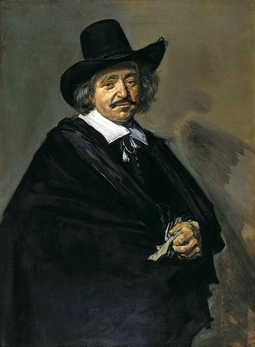Франс Халс - Мужской портрет. 1650-52. 108х80. М Лихтенштейн. Liechtenstein Museum (Vienna)