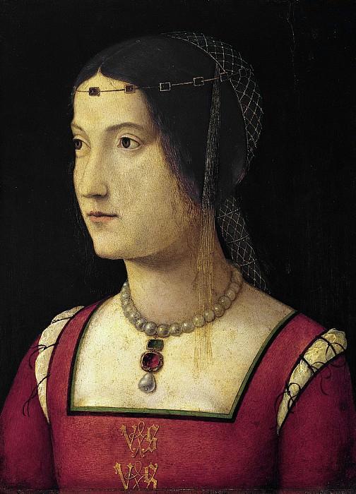 Бернардино ди Бозио Дзаганелли - Портрет дамы. 1500. 33х25. М Лихтенштейн. Liechtenstein Museum (Vienna)