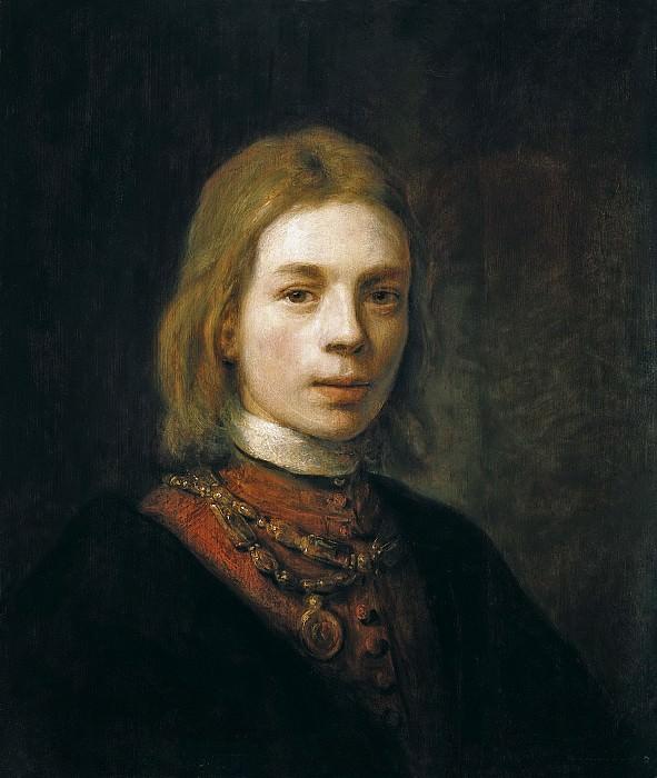 Самуэль ван Хоогстратен - Автопортрет. 1645. 54х45. М Лихтенштейн. Liechtenstein Museum (Vienna)