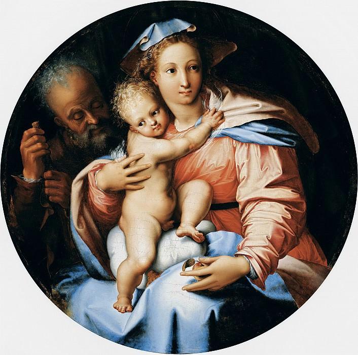 Пьерино дель Вага - Святое семейство. ок1540. 85см. М Лихтенштейн. Liechtenstein Museum (Vienna)