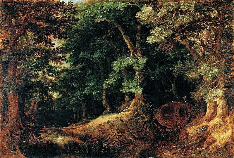 Гиллис ван Конинксло - Лесной пейзаж. 1598. 42х61. М Лихтенштейн. Liechtenstein Museum (Vienna)